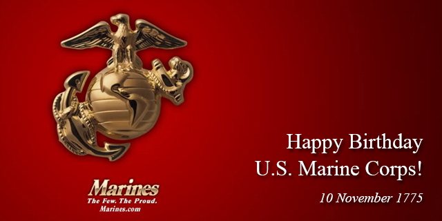 239th Marine Corps Birthday | Through Our Lives